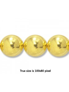 Bead (Copper) 12mm H:2mm Gold plated