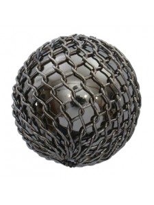 Black Mesh Copper Bead 15mm