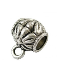 Hang Bead 10mm (H5mm) Antique Silver
