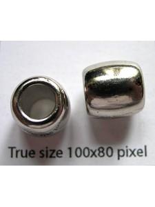 CCB Bead 12mm Nickel colour
