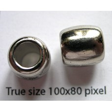CCB Bead 12mm Nickel colour