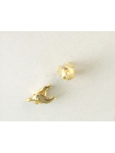 Bell Cap small Gold Plated