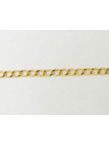Chain Beveled Curb Gold Plate - per MTR