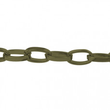 Cable Chain 11x6x2mm Anti Brass - Mtr