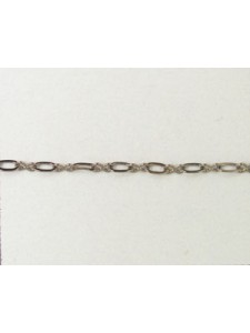 Chain 235ASF Black Nickel pl. per meter