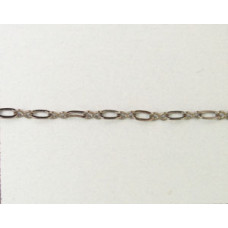 Chain 235ASF Black Nickel pl. per meter