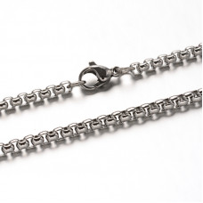 Box Chain Stainless 81cm