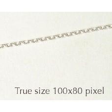 Chain St.Silver Cable 40-PER GRAM 4.6g/M