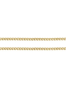 Chain Brass Curb 3.5x2.5.0.6mm link GP-M