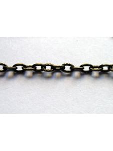 Chain 4x3mm 1mm thick Antique Bronze