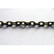 Chain 4x3mm 1mm thick Antique Bronze