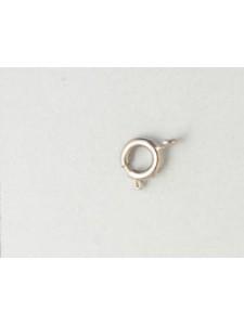 Bolt Ring 242/6 mm Nickel plated