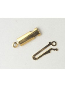 Clasp Flat 016 Gold Plated