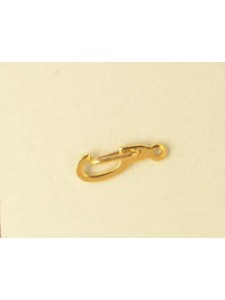 Clasp Flat Brass Gold Plated