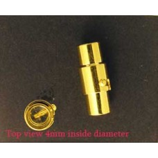 Magnetic Clasp 5x20mm (H 4mm) Gold plate