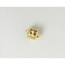 Magnetic Clasp  6mm Gold plated