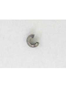 Crimp Cover 4mm 1.5mm hole Black NF