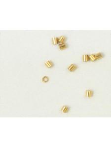 Crimptube 1.8mm Gold Plated