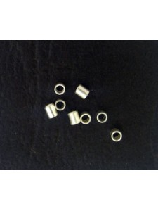 Crimptube 1.8mm Silver Plated