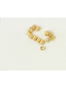 Crimptube 2.0mm Gold Plated