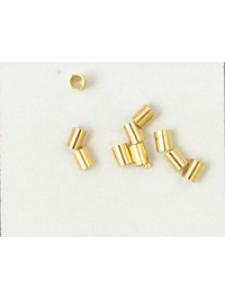 Crimptube 2.5mm Gold Plated