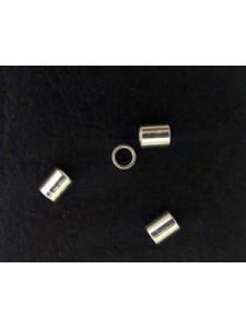 Crimptube 2.5mm Silver Plated