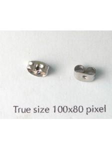 Earring Scroll KE155 Surgical Steel PAIR