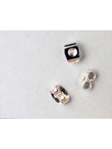 Ear Scroll KE115 Silver plated -pair