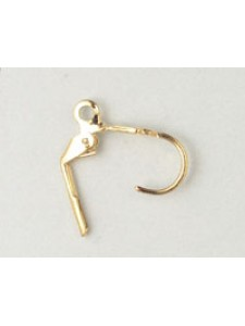 Ear Wire Continental Gold plated - PAIRS
