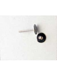 Ear Post 6mm Flat Surgical Steel - Pairs