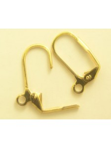 Continental Earhooks Gold plated PAIRS