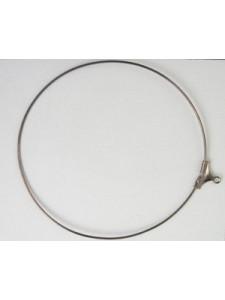 Stamping Hoop 55mm Black Nickel