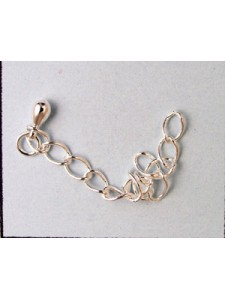 Extension Chain 6cm Silver plated