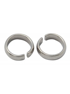 Jumpring 9x2.7mm Stainless Steel - each