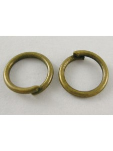 Jump Ring (Iron) 10mm Antique Brass