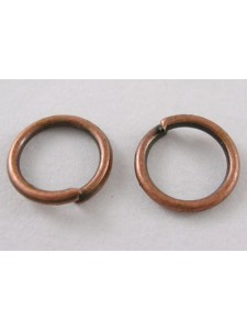 Jump Ring (Iron) 10mm Antique Copper