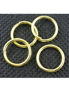 Jump Ring (Iron) 14mm Gold plated