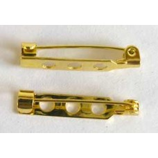 Brooch Pin 1inch Gold Colour NF