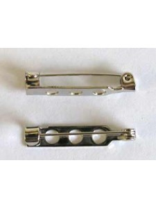 Brooch Pin 1inch Nickel Colour NF