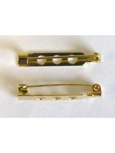 Brooch Pin 1.25inch Gold plated