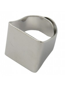 Finger Ring (asia) 19mm Sq Nickel Plate