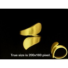 Adjustable Ring base Brass ID18mm RAW