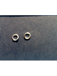 Jump Ring 4x0.8mm Stainless Steel