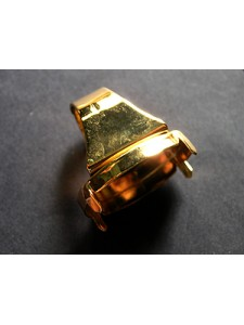 Ring for 4127 30mm Square base Gold plat