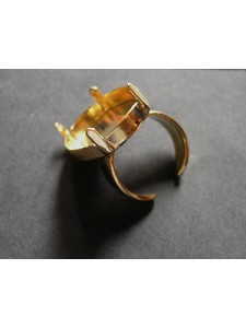 Ring for 4127 30mm Open base Gold Plated