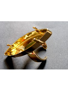 Ring for 4200 48mm Open base Gold plated