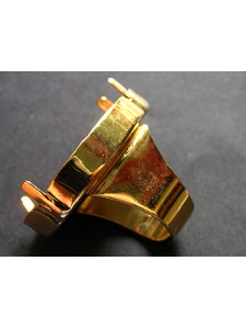 Ring for 4327 40mm Square base Gold plat