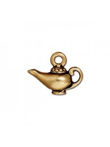 Aladdin's Lamp Antique Gold