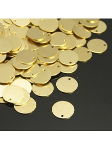 Brass Blank Tag 35x0.5mm H:1.5mm