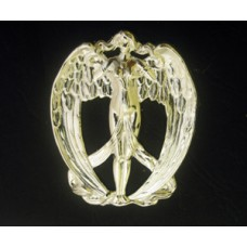 Angel Art Nouveau Silver Plated